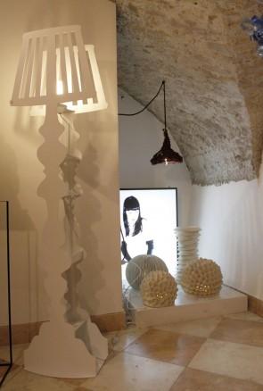 MINU' DESIGN - Lampada da terra Maria Antonietta