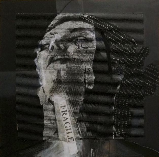 Sonia Ceccotti - Autoritratto in nero