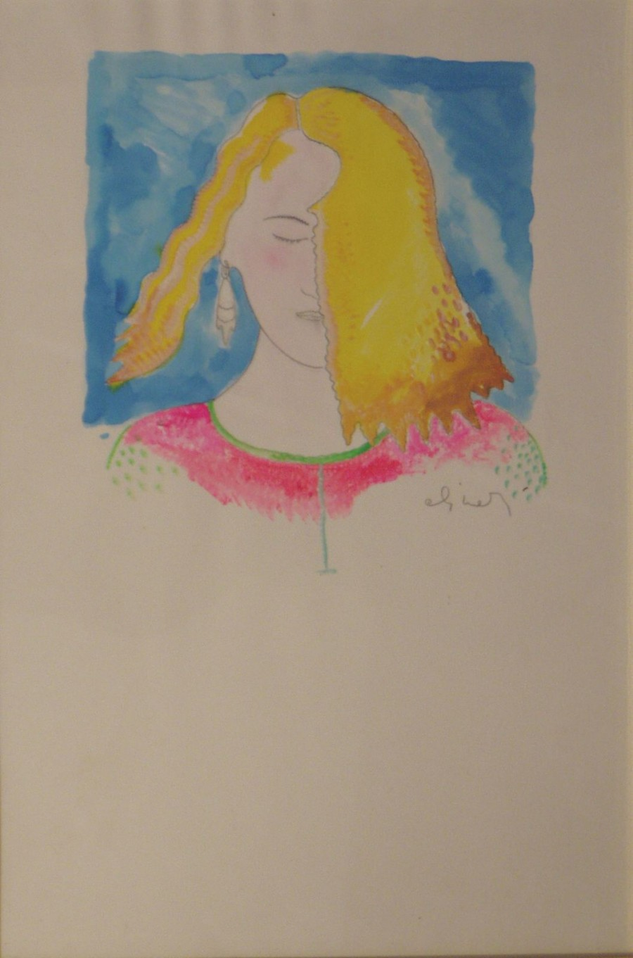 LUCA ALINARI -  Ritratto di fanciulla