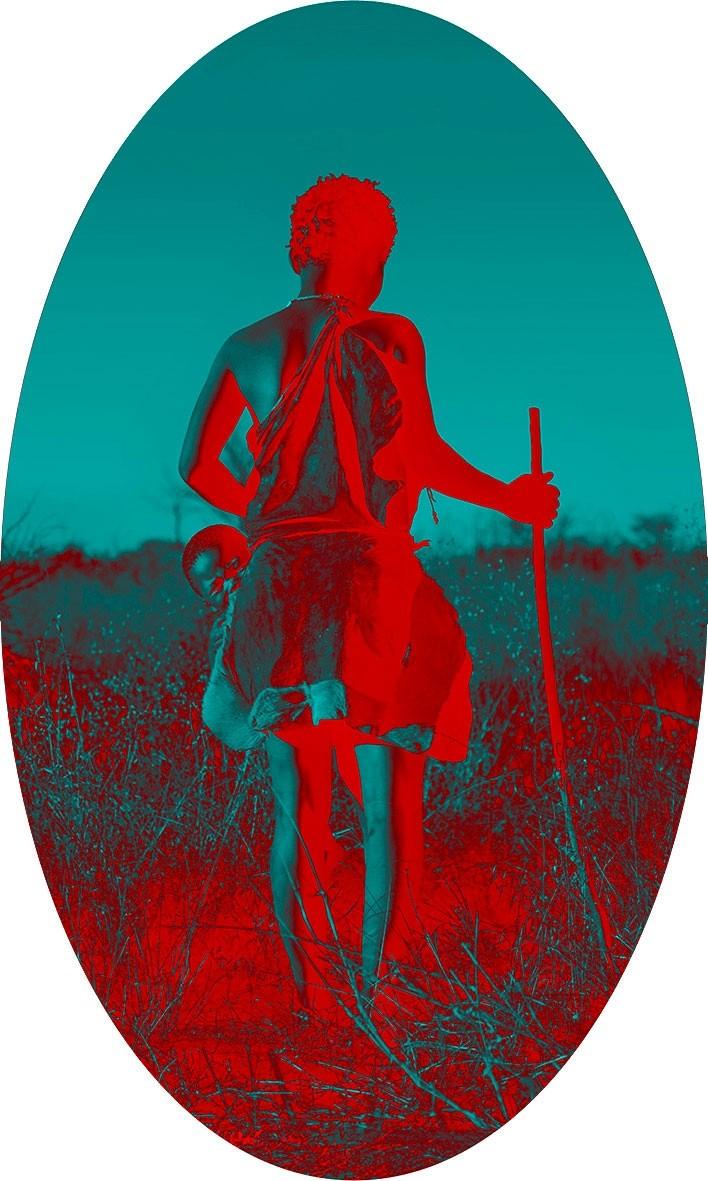 Gabriele Zago - Deception valley Botswana - Looking for something