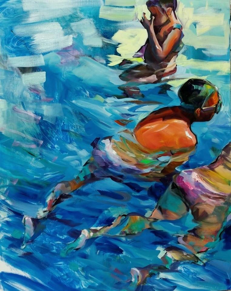 Claudio Malacarne - Swimmers