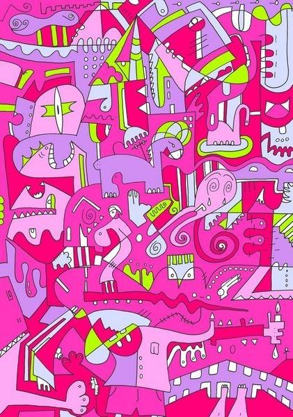 Viola Bianco by Simone Berno - Pink and myself