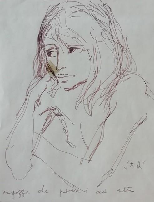 Alberto Sughi - Ragazza che pensa ad altro