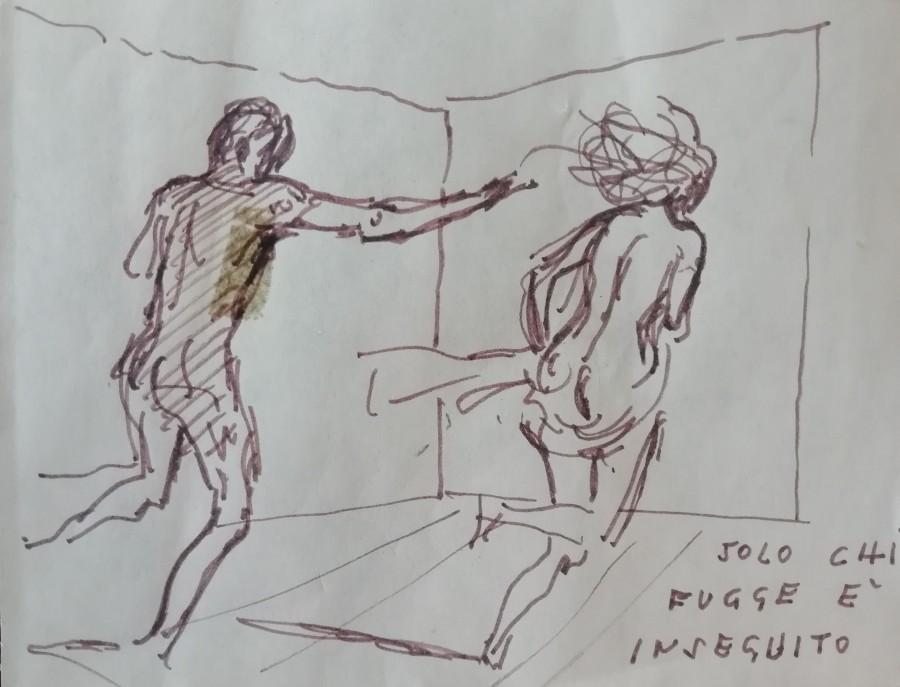 Alberto Sughi - Solo chi fugge è inseguito