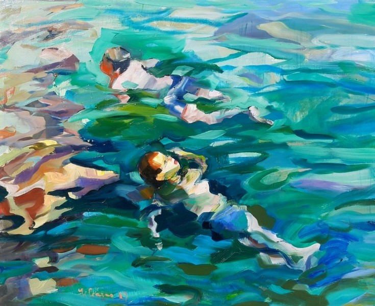 Claudio Malacarne - Torquise Lagoon
