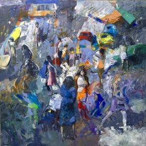 Antonio Tamburro - Metropoli blu