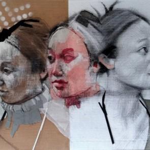 Sonia Ceccotti - Three Corean girls