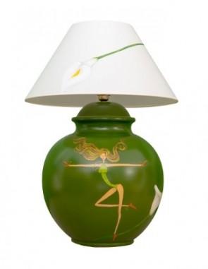 Marie Maison Sicilian Design - Lume Fate e fiori Verde