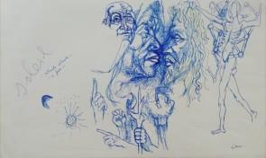 Renato Guttuso - Confronto di Religioni