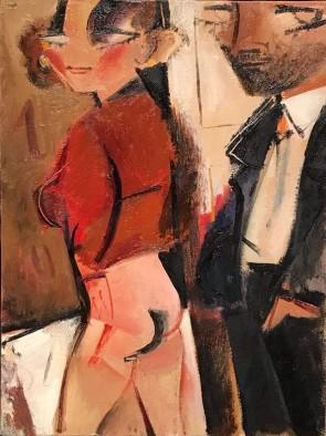 Alberto Manfredi - Pittore e Modella
